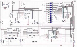 Free Schematic Diagram  Speed Reaction Test Circuit