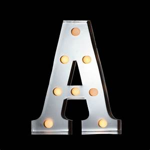 marquee light letter 39a39 led metal sign 10 inch battery With marquee letter a