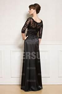 Haut Habillé Pour Soirée : robe noire haut en dentelle avec manche longue pour soir e ~ Melissatoandfro.com Idées de Décoration