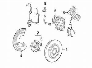 Mercury Sable Abs Wheel Speed Sensor  Rear