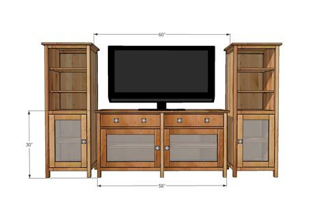 white media cabinet white benchmark media console diy projects