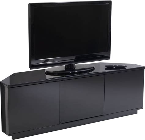 Uk Cf Milan Blk Fully Assembled Tv Stands