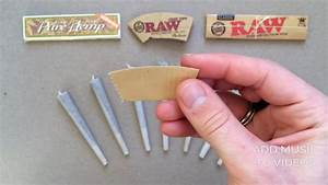 Trick for rolling the best RAW cone tip. (Joint filter ...