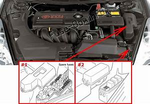 Fuse Box Diagram Toyota Celica  T230  1999
