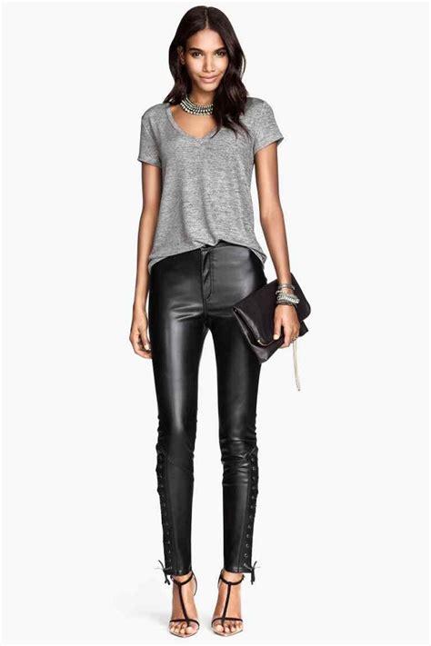 Pantaloni e leggings in pelle 3 ideei per indossarli al ...