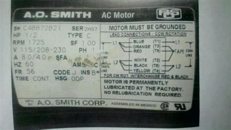 Smith Electric Motor Wiring Diagram Gallery