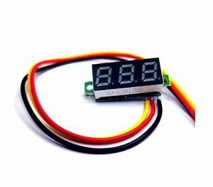 Diy Box Mod Parts - Voltmeter  3 Wire