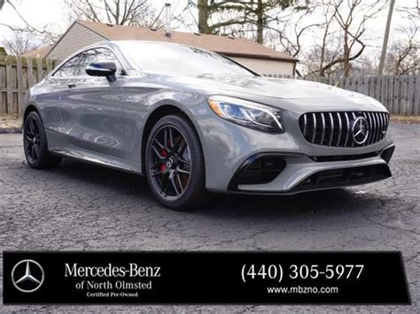 Find information on performance, specs, engine, safety and more. 2020 Mercedes-Benz S-Class S63 AMG For Sale in North Olmsted, OH | Exotic Car List
