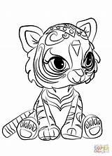 Shimmer Shine Coloring Pages Nahal Dibujos Printable Para Colorear Kolorowanki Tiger Mermaid Printables Drawings Stitch Sheets Pintar Es Imprimir Supercoloring sketch template