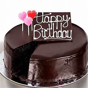 Chocolate Happy Birthday Cake Images, Pictures and Photos ...