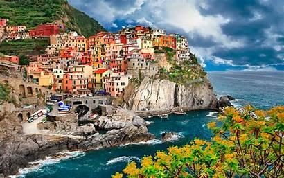 Italy Terre Cinque Manarola Wallpapers Wallpapers13