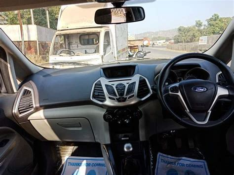 ford ecosport  tdci diesel titanium   mumbai