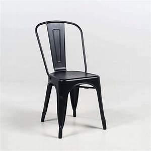 Chaise Industrielle Metal : chaise industrielle en m tal empilable maxime 4 ~ Teatrodelosmanantiales.com Idées de Décoration