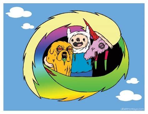 Singkat cerita, kami pun berkenalan. Cerita Kartun Adventure Time - Contoh Yes