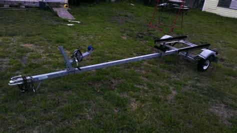 Used Jon Boat Trailer by Mcclain Boat Trailer For Sale