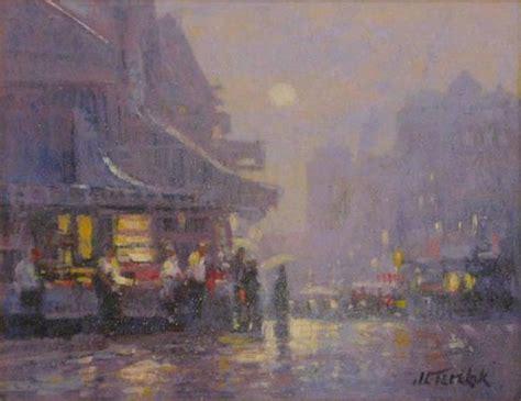 john  terelak  village  york city painting