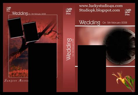 Dvd Cover Template 27 Wedding Dvd Cover Psd Templates Free Studiopk