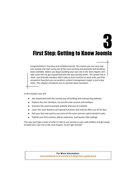 make a joomla template in 5 easy steps joomla 2 5 beginner s guide first steps getting to know