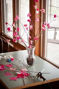 Spring Paper Flowers Decorations