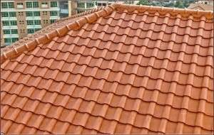 roofing material options used by a building contractor in