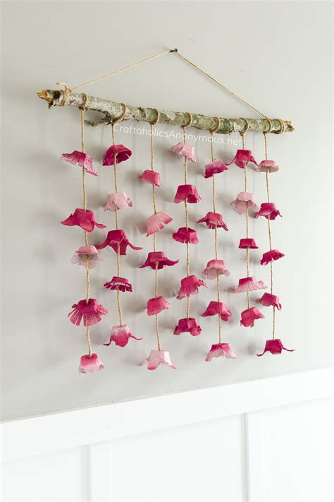 Craftaholics Anonymous®  Boho Flower Wall Hanging Made