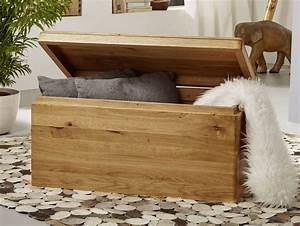 Truhe Schlafzimmer : verona truhe wildeiche ge lt ~ Pilothousefishingboats.com Haus und Dekorationen