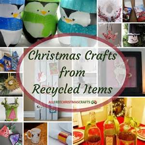 57 christmas crafts from recycled items allfreechristmascrafts com