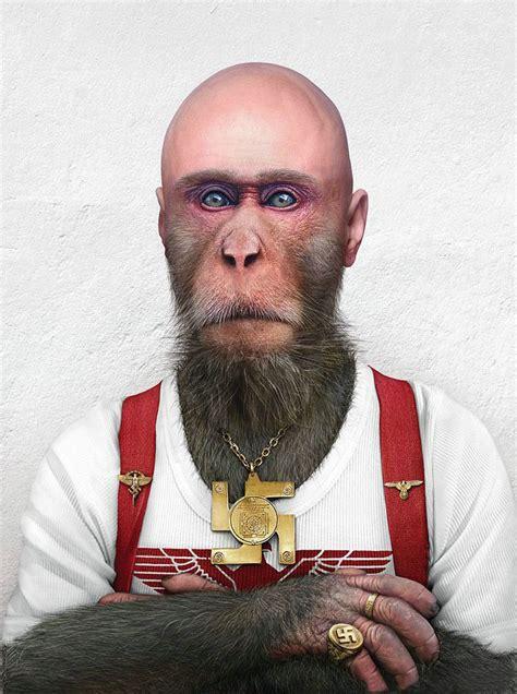 man enjoy  monkey face  wallpapers