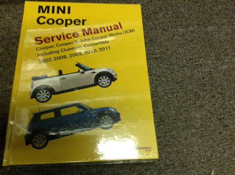 free service manuals online 2010 mini cooper electronic toll collection 2007 2008 2009 2010 2011 mini cooper s convertible service repair shop manual nw ebay
