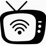 Icon Streaming Tv Broadcasting Broadcast Icons Data