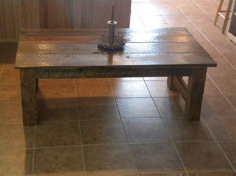 barn wood projects reclaimed barn wood coffee table by bush