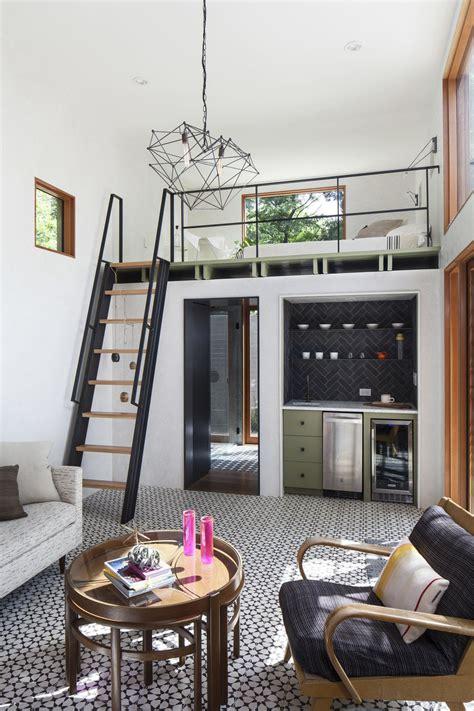 double height casita   pool added   small backyard idesignarch interior design