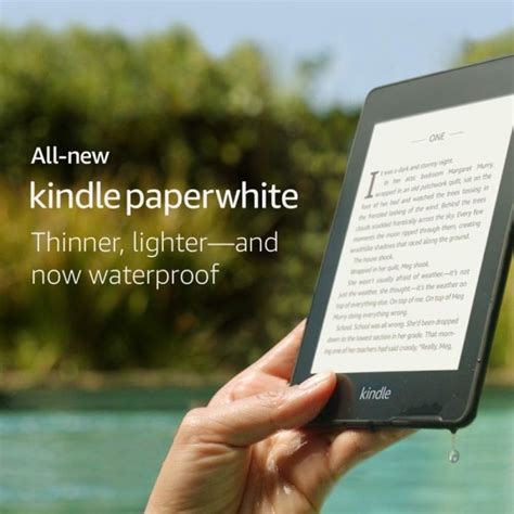 kindle paperwhite 2018 gets a great discount