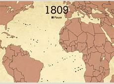 Animated interactive of the history of the Atlantic slave