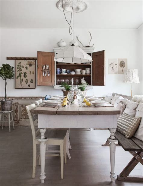 Shabby Chic Country Kitchen Design For Creative Renovators