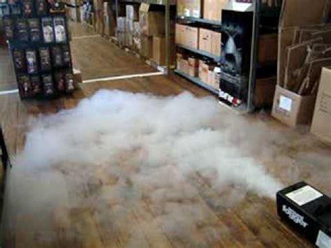 ground fog machine  halloweenasylumcom youtube