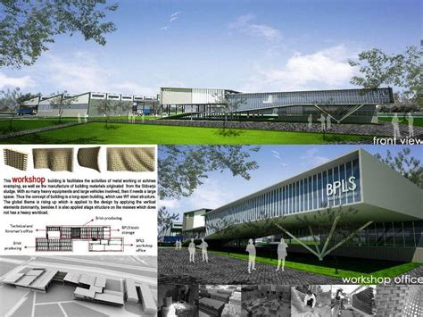 Master Plan Mud Volcano Research Center at Sidoarjo a474 3D Architectures ? Architecture