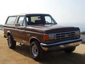 how to work on cars 1987 ford bronco ii security system 1987 ford bronco brown for sale in encinitas california united states for sale photos