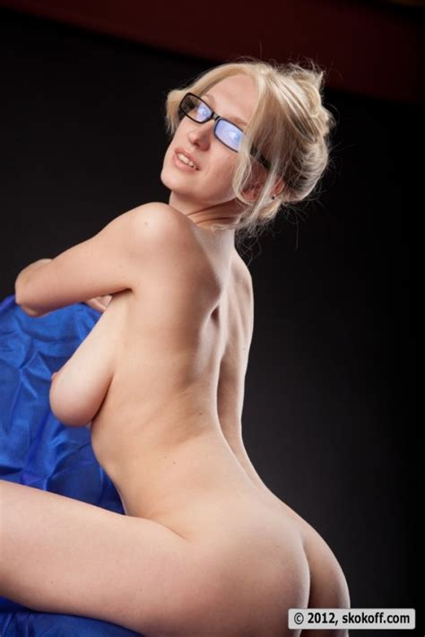 Katy Poses In Glasses Sexy Gallery Photo
