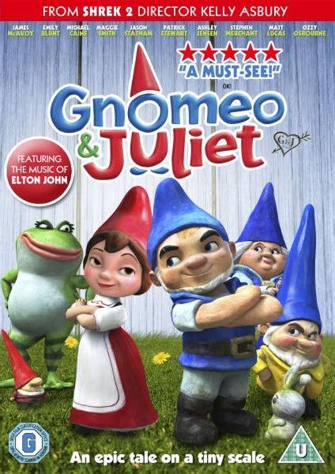 gnomeo  juliet dvd zavvi
