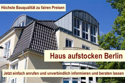 Haus Aufstocken Berlin  Dachausbau Dachgeschossausbau
