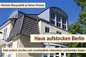 Dachausbau Ideen Für Ausbau Umbau Und Aufstockung : haus aufstocken berlin dachausbau dachgeschossausbau ~ Lizthompson.info Haus und Dekorationen