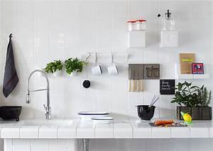 Deco cuisine scandinave exemples d39amenagements for Idee deco cuisine avec deco vintage scandinave