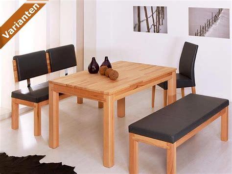 esszimmer mit bank und stühle bank luca 130cm mit lehne verschiedene varianten