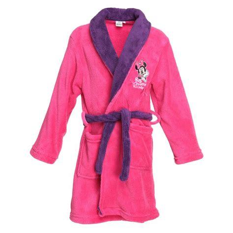 robe chambre fille minnie robe de chambre enfant fille et violet achat
