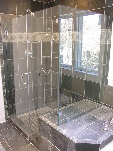 bathroom glass shower ideas home complete sliding doors windows
