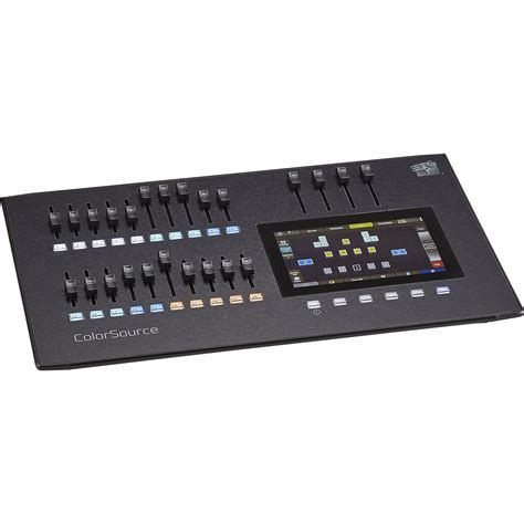 Etc Lighting Console by Etc Cs20 20 Fader Colorsource Lighting Console 7225a1000