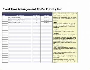 excel time management project task list template sample With task list template for project management