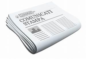 Invio di Comunicati Stampa : Invio di 1 comunicato stampa