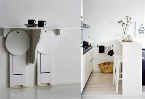 table gain de place cuisine 5 idées gains de place pour la cuisine joli place